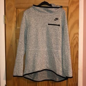 Nike Women's Lifestyle Hoodie Grey Heather/Black